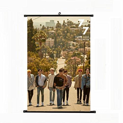 Bosunshine Got7 for 7 Limited Edition Wall Scroll Cloth Post