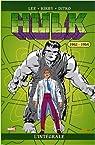 Hulk : L'intégrale 1962 - 1964  par Kirby