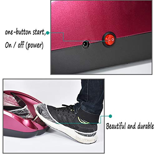 LDY Automatic Shoe Cover Machine, Disposable Indoor Home ABS Plastic , to Send 200 Non-Woven Shoe Covers by LDY (Image #4)