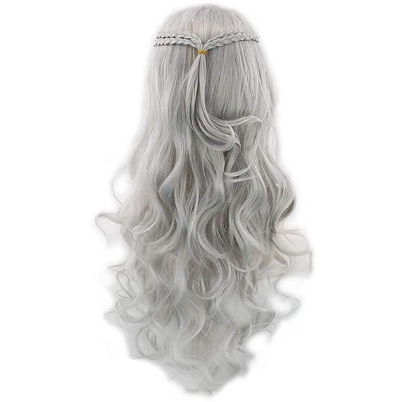Jackilove Queen Daenerys Targaryen Traje de Cosplay Juego de ...