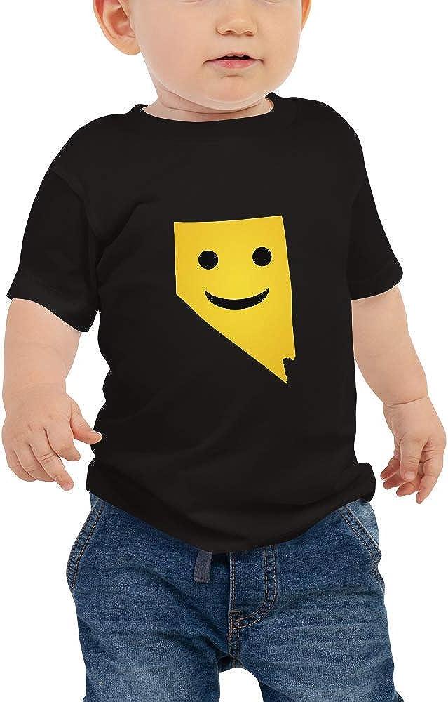 Nevada Emoji Baby Short Sleeve Tee T-Shirt
