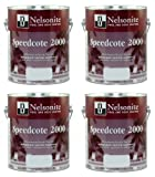 Swimming Pool Paint Speedcote 2000 4 Gallons Lake Blue 43-404 - 4PACK