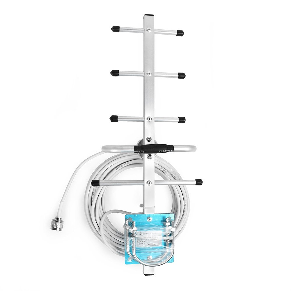 Cell Phone Signal Booster 800Mhz 850Mhz 900Mhz Outdoor Yagi Antenna 8dBi GSM Yagi Antenna with N Male Connector Protone Ltd.