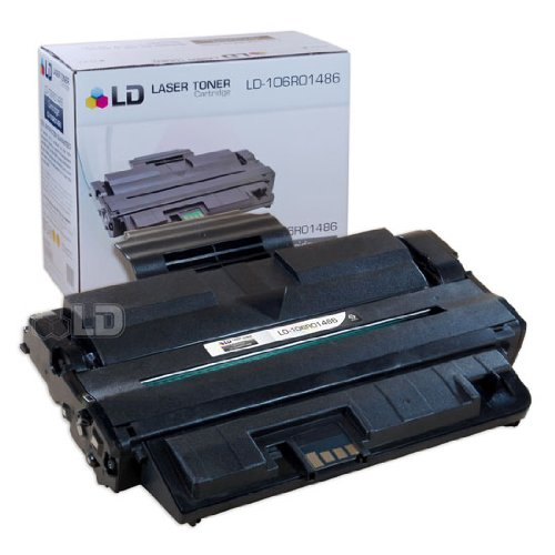 LD Compatible Replacement for Xerox 106R01486 Black Laser Toner Cartridge for use in Xerox WorkCentre 3210, and 3220 Printers Xerox Replacement Parts