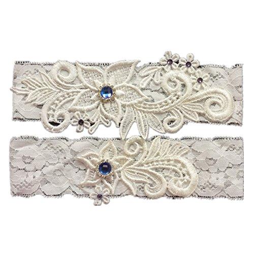 Tradition Of Wedding Garter: XSWPL Wedding Bridal Lace Garter Set Keepsake Toss