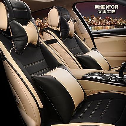 Cool 3D Frontline Pu Leather Car Seat Cover For Mahindra Tuv 300 Black Creativecarmelina Interior Chair Design Creativecarmelinacom