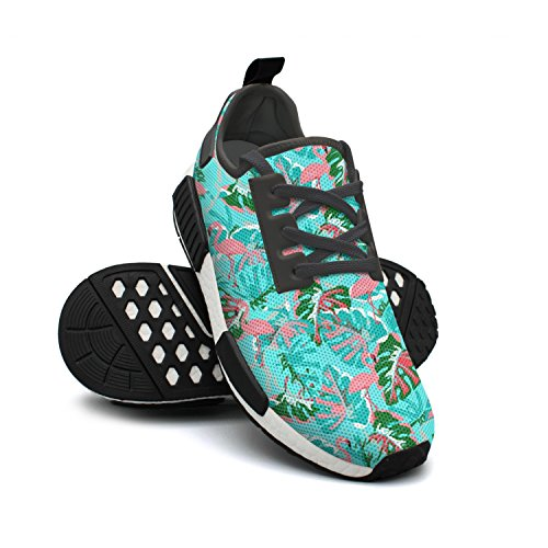 Sneakers Shoes Classic Flamingo Breathable Running Lightweight Abstract Fashion Mesh FAAERD Womens UwSR5qZv