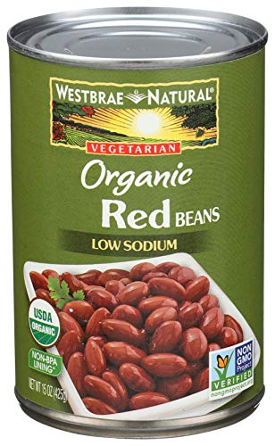 Westbrae Natural, Vegetarian Organic, Red Beans, 15 oz (Rice And Peas Recipe With Canned Kidney Beans)