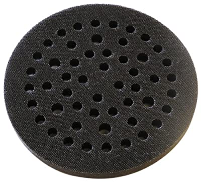 "3M Clean Sanding Soft Disc Pad 20428, Hook and Loop Attachment, 3"" Diameter x 0.75"" Thick, 6 Hole (Pack of 1)"