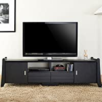 247SHOPATHOME Ynj-1416-1 Television-Stands, Black