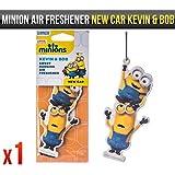 Despicable Me Minions New Car Kevin & Bob Fragrance Car Air Freshener Licensed x1