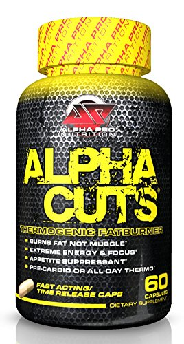 Alpha Cuts Capsules, NEW! Fat Burner, Weight Loss, Pre Workout, Alpha Lipoic Acid, Best Fat Burner, Alpha Pro Nutrition, capsules