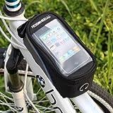 Roswheel 5,5 Pouces Sacoche de Vélo Sacoche vélo pour Samsung iPhone HTC Nokia et les autres téléphones Intelligents de 5,5 inch -Bleu