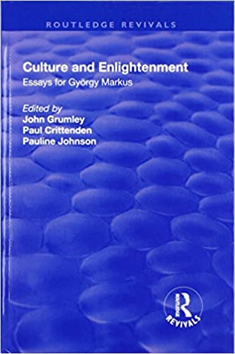 Proposal Essays Culture And Enlightenment Essays For Gyrgy Markus St Edition Example Of An Essay With A Thesis Statement also Proposal Essays Amazoncom Culture And Enlightenment Essays For Gyrgy Markus  General Essay Topics In English