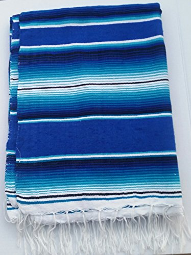 mjl-mexican-saltillo-blanket-blue