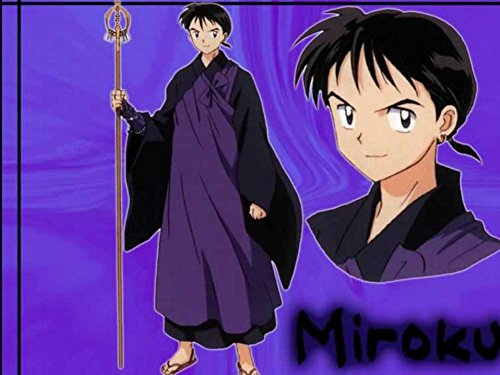 Miroku The Holy Monk - Art Print on Canvas (32x24 inches, unframed)