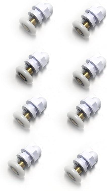 Rodamientos de repuesto para mampara de ducha, 19 mm de diámetro ...