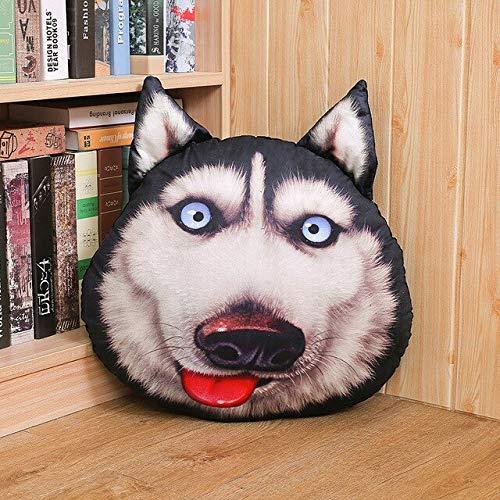 xiaoyuershop Cute Husky Dog Plush Toys Impreso Almohada ...