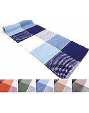 Madrid Tappeto Cotone Lavabile Bagno Cucina Antiscivolo 50x80 55x110 55x180 55x240 Vari Colori Lavabile in Lavatrice 30°