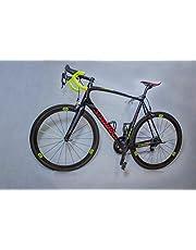 Allround Fahrradwandhalterung von trelixx aus Plexiglas® Acrylglas, platzsparende Fahrradaufbewahrung, Radhalter Wandmontage