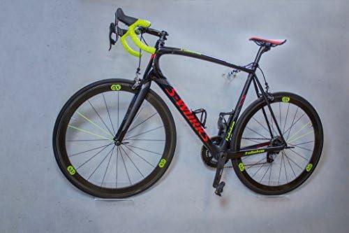 trelixx Soporte de Pared para Bicicleta acrílico Transparente (Acabado láser) para Bicicleta de montaña/de Carreras, Soporte de diseño para Bicicleta con Montaje en la Pared: Amazon.es: Deportes y aire libre