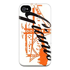 Snap-on Cases Designed For Iphone 6- San Francisco Giants