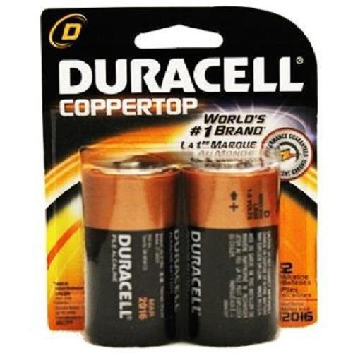 Duracell D 2pk 1.5V Alkaline Battery Repack LR20 E95 AM2 MN1300, Model: , Gadget & Electronics Store by Duracell