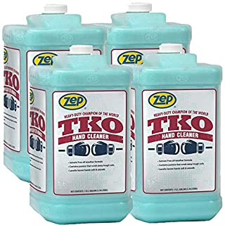 Zep Heavy-Duty TKO Hand Cleaner 128 oz. R54824 (Case of 4) Pump NOT included - The GO-TO cleaner for Pros that actually works!