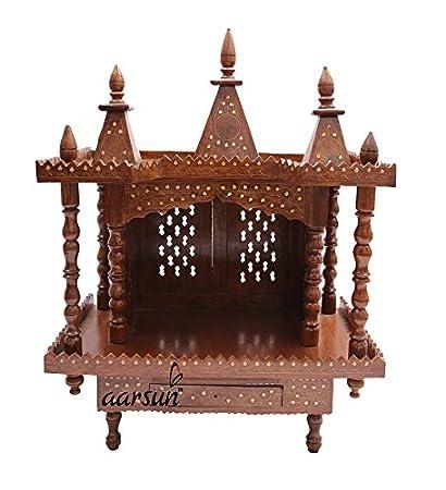 Aarsun Sheesham Folding Wooden Temple / Wooden Mandir / Mandir Design Part 79
