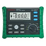 Mastech MS5910 Professional GFCI Tester Circuit Trip-out Current/Time Test RCD/Loop Resistance Meter with USB Interface