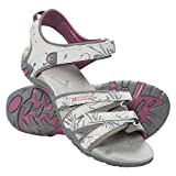 Mountain Warehouse Santorini Womens Sandals - Ladies Summer Shoes Grey 5 M US Women