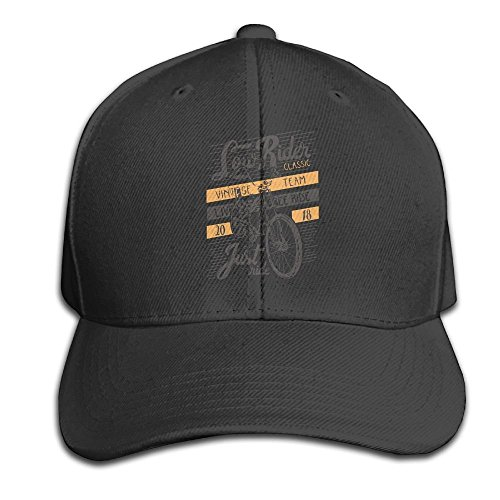 Yishuo Unisex Solid Color CapSun Low Rider Caps -