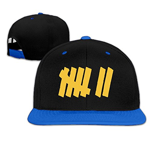 Strength In Numbers 7 Hip-Hop Baseball Hats One Size RoyalBlue Unisex ()