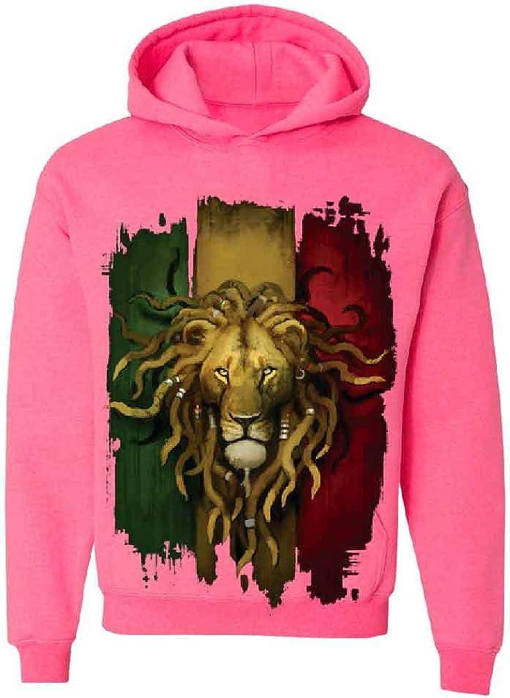 Rasta Lion Dreds Judah Ganja Unisex Crewneck Rastafari Sweater