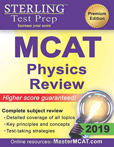 Pdf Test Preparation Sterling Test Prep MCAT Physics Review: Complete Subject Review