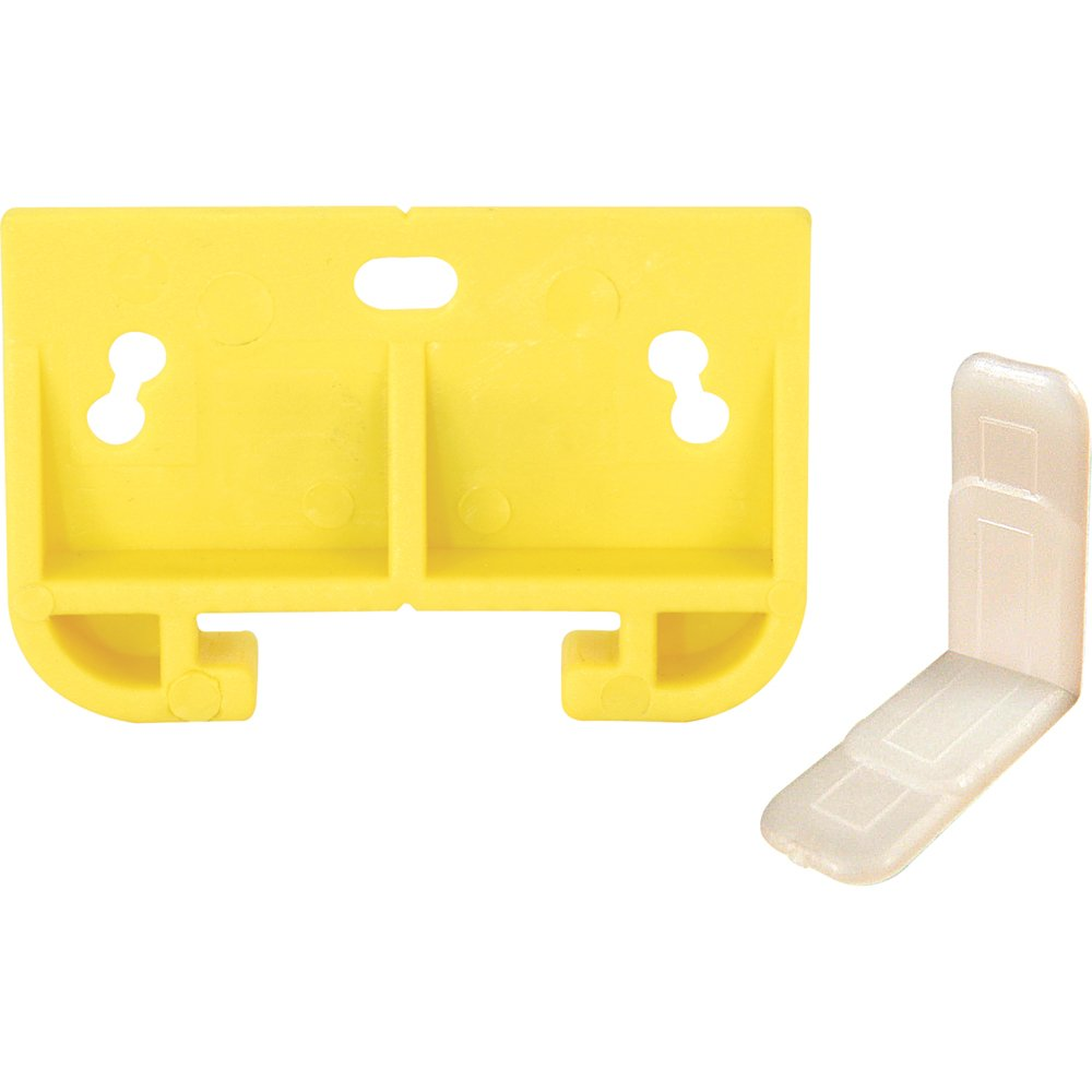 Prime-Line Products R 7154 Drawer Guide Metal Track, Yellow