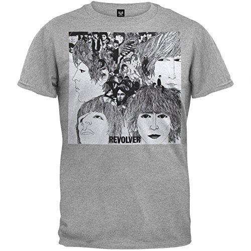 Beatles Men's Revolver T-shirt X-Large - Revolver Tee Mens