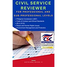Civil Service Reviewer Philippine Constitution (1987), Code of Conduct and Ethical Standards ,: (R.A. 6713), Peace and Human Rights Issues , and Environment Management and Protection.