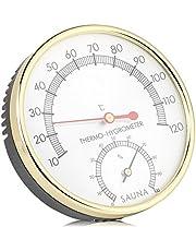 Garosa digital hygrometer inre termometer fuktmonitor mätare för bastu hus kontor växthus