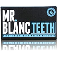 Mr. Blanc Teeth - Teeth Whitening Strips - 2 Week Supply - Professional Teeth Whitening - Enamel Safe - Non Peroxide