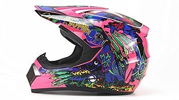 AHP Casco de motocross para motocicleta, para adultos, para todo tipo de motocicletas,