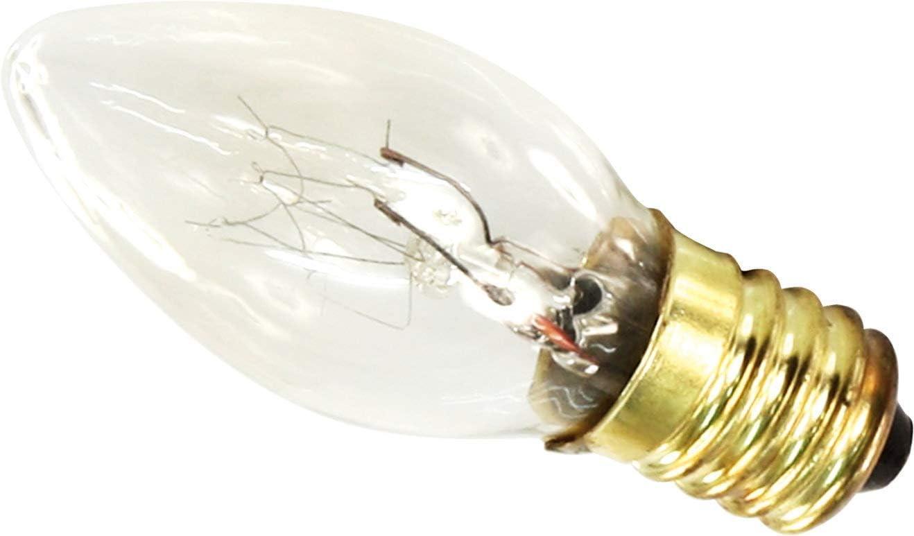 Röhren Glühbirnen T25x56 10W E14 230V Glühlampen Kühlschrank warmweiß dimmbar