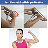 ZOMAKE Upper Arm Exerciser Arm Upper Body Workout Machine Arm Muscle Exercise Equipment Fitness...