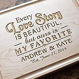 Personalized Cutting Board, Custom Keepsake, Engraved Serving Cheese Plate, Wedding, Anniversary, Engagement, Housewarming, Birthday, Corporate, Closing Gift #013