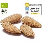 Bio Mandeln Valencia 500g, Frische Ernte aus Spanien, ohne Schale und ganze Kerne, naturbelassen