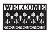 Evergreen Flag 2RMS420 Welcome Scroll Coir Switch Mat Tray, Multi-Colored