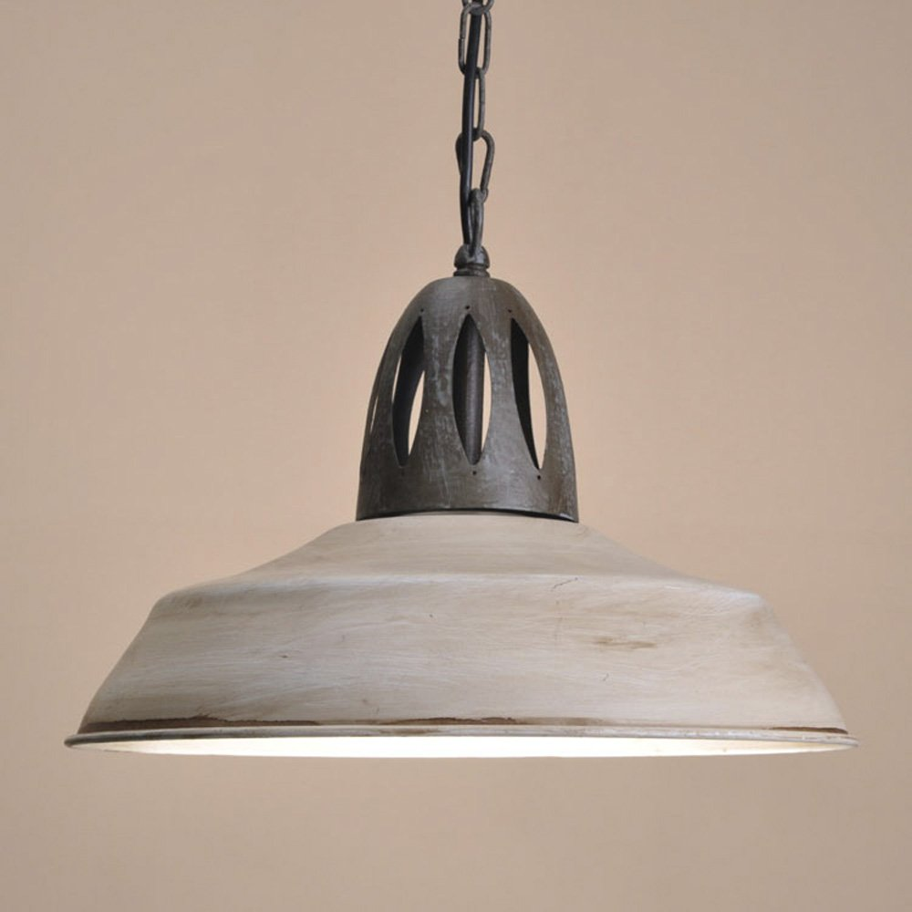 SUSUO Lighting Simplicity Barn Pendant Light Rustic