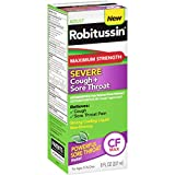 Best Cough Medicines - Robitussin Adult Maximum Strength Severe Cough + Sore Review