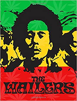 Reggae Notebook: Bob Marley Journal Book Music Song Ruled Lined Page