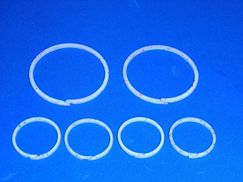 Wellington Parts Corp **NO TOOLS NEEDED**Teflon Ring Combo Kit---Fits ALL 700R4 4L60 MD8 Transmissions